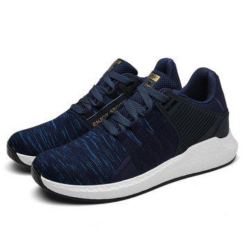 Pinstripe Breathable Athletic Shoes - 40 40