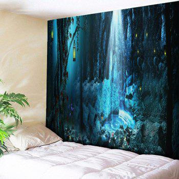 Wall Hanging Magic Forest Printed Tapestry