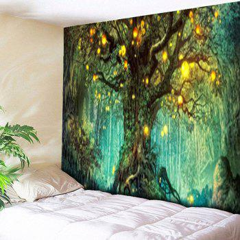 Life Tree Print Wall Hanging Tapestry