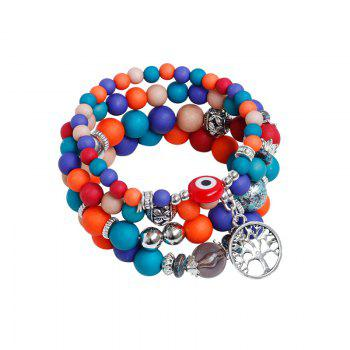 Tree of Life Charm Beaded Bracelets - COLORMIX COLORMIX
