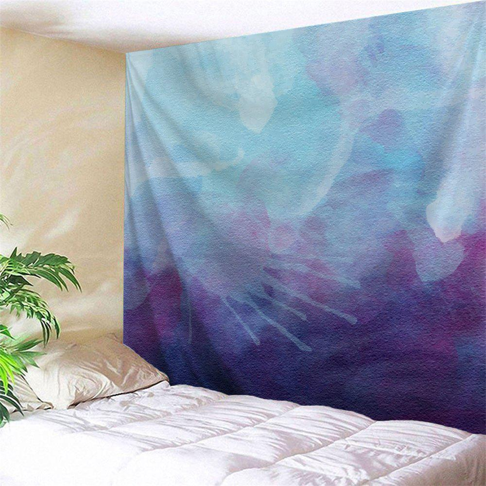 Watercolor Printed Hanging Wall Decor Tapestry wall hanging watercolor space throw tapestry