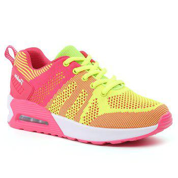 Color Block Air Cushion Chaussures de sport respirantes