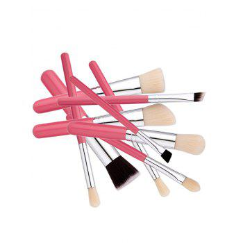 Face Eye Beauty Makeup Brushes Set -  PINK
