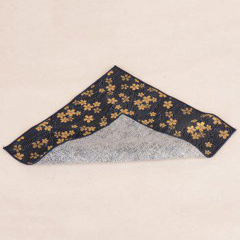 Portable Vintage Ethnic Pattern Handkerchief - CADETBLUE