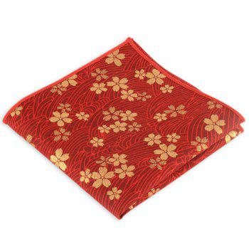 Portable Vintage Ethnic Pattern Handkerchief - RED RED