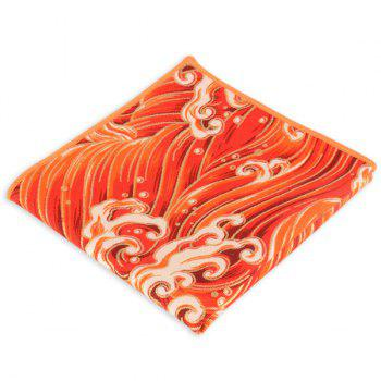 Portable Vintage Ethnic Pattern Handkerchief - BRIGHT ORANGE BRIGHT ORANGE
