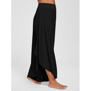Overlap Swing Culotte Pants