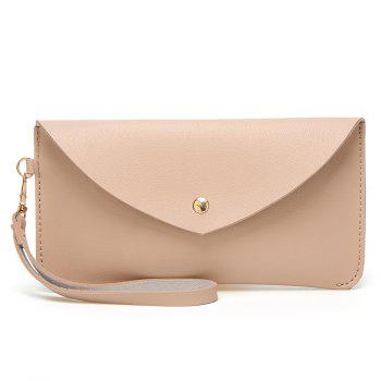 PU Leather Envelope Clutch Bag
