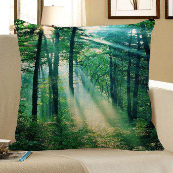 Sunshine Trees Printed Pillow Case