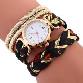 Braided Wrap Bracele Watch