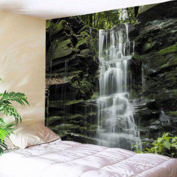 Stone Falls Print Tapestry Wall Hanging Art