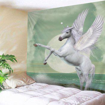 Winged Unicorn Print Tapestry Wall Hanging Art