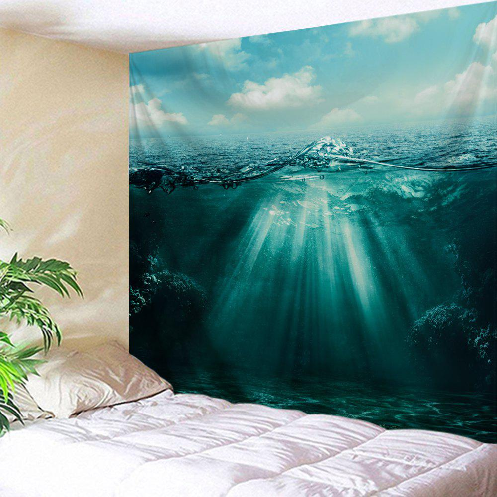 Ocean View Wall Hanging Home Decor Tapestry butterfly print home decor wall hanging tapestry