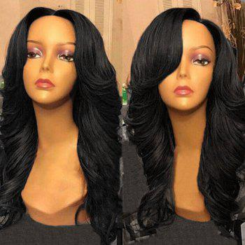 Free Part Wavy Long Synthetic Wig