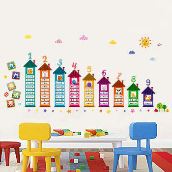 Multiplication Table Pattern Wall Art Sticker For Kids Room - COLORMIX COLORMIX