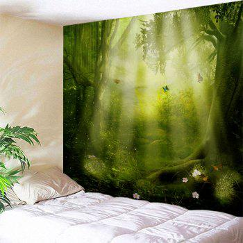 Sunshine Fairy Forest Wall Art Hanging Tapestry