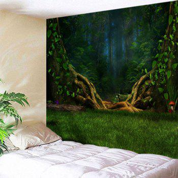 Dreamlike Forest Wall Decoration Hanging Tapestry
