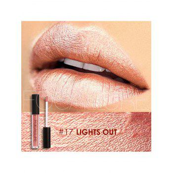 Moisturizing Waterproof Metallic Color Lip Glaze -