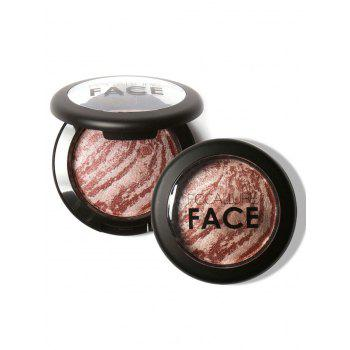 Water Proof Soft Mineral Blusher Palette - #04