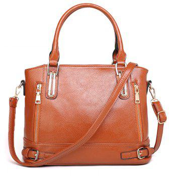 Belt Buckles Zippers Tote Bag