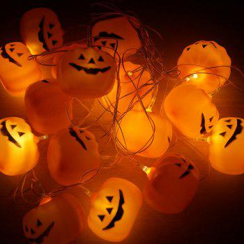 16 Pcs LED Halloween Pumpkin String Lights