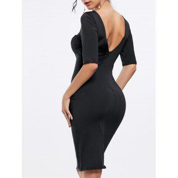 Backless Party Pencil Dress