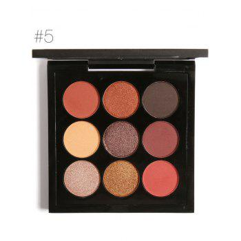 Long Lasting Not Dizzy 9 Colors Waterproof Eyeshadow Kit