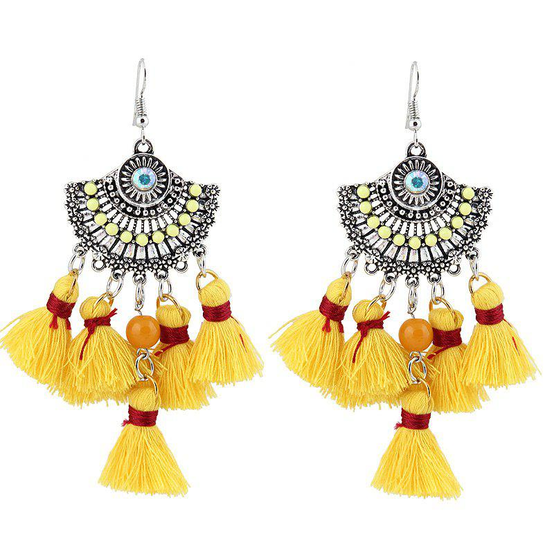 Tassel Chandelier Vintage Hook Earrings
