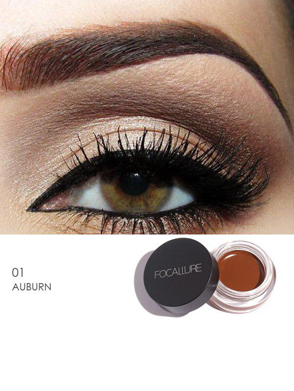 Anti Sweat Waterproof Long Lasting Eyebrow Gel Cream - AUBURN BROWN