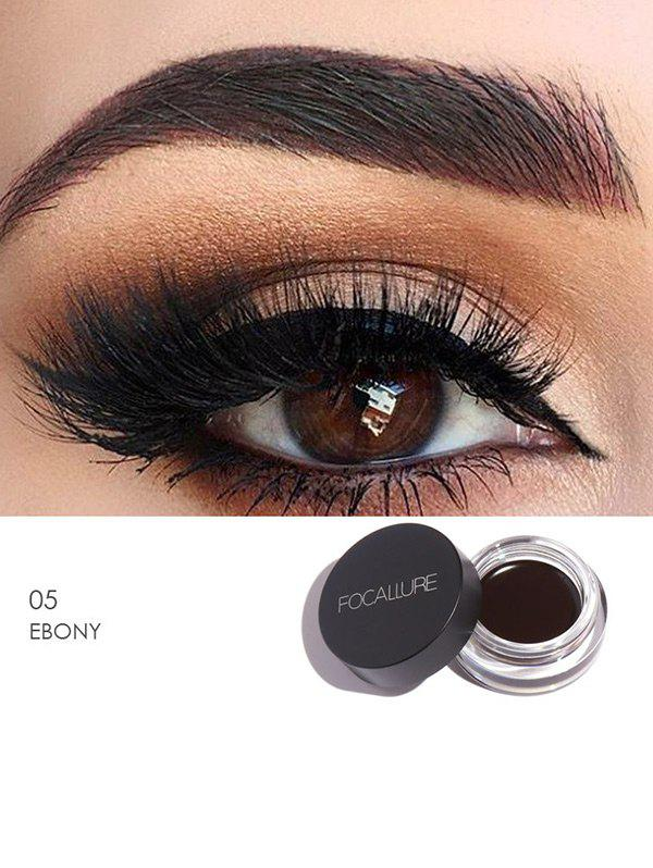 Anti Sweat Waterproof Long Lasting Eyebrow Gel Cream - EBONY WOOD