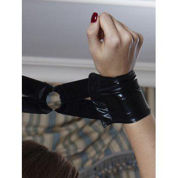 Choker Straps Cut Out Cosplay Costume - BLACK ONE SIZE