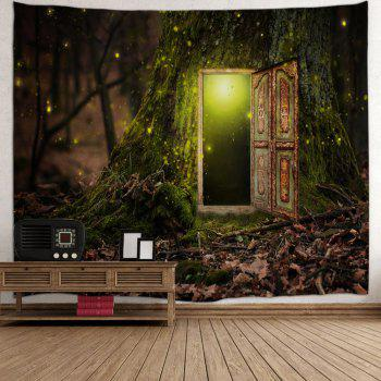 Fairy Tree Decorative Wall Art Hanging Tapestry - COLORMIX W59 INCH * L59 INCH