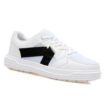 Mesh Color Block Sneakers