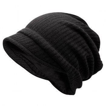 Striped Warm Knitting Beanie