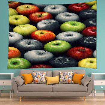 Apples Print Tapestry Wall Hanging Art - COLORMIX W59 INCH * L51 INCH