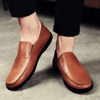Slip On Faux Leather Casual Shoes - 43 43
