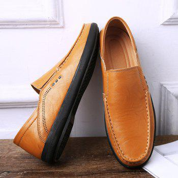 Slip On Faux Leather Casual Shoes - 41 41
