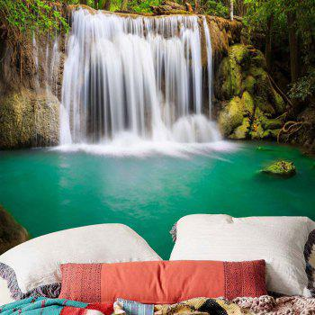 Wall Art Forest Waterfall Hanging Tapestry - Vert W59 INCH * L51 INCH