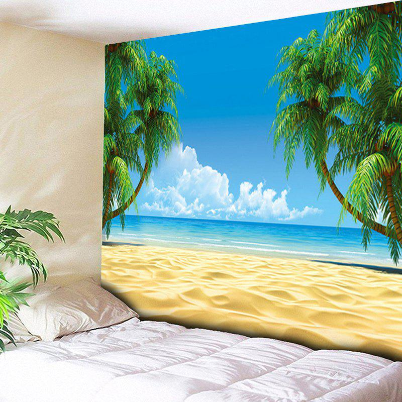 Beach Coconut Palm Print Wall Decor Tapestry