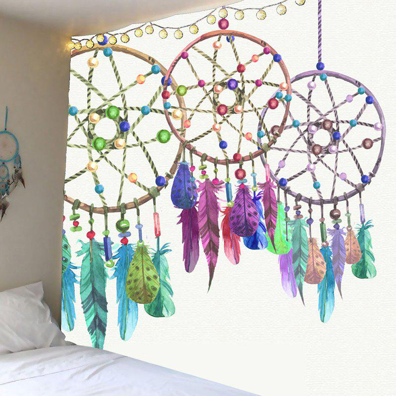 Waterproof Aeolian Bells Pattern Wall Decor Tapestry - COLORFUL W79 INCH * L79 INCH