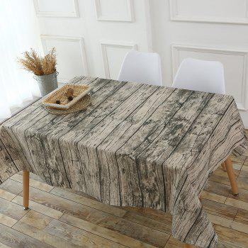 Original Wood Texture Tablecloth - W55 INCH * L40 INCH W55 INCH * L40 INCH
