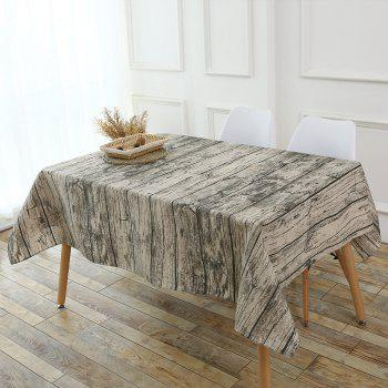 Original Wood Texture Tablecloth - WOOD W55 INCH * L55 INCH