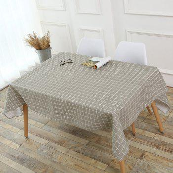 Grids Patterned Kitchen Decor Table Cover - W55 INCH * L55 INCH W55 INCH * L55 INCH