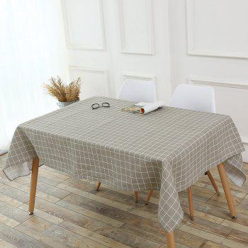 Grids Patterned Kitchen Decor Table Cover