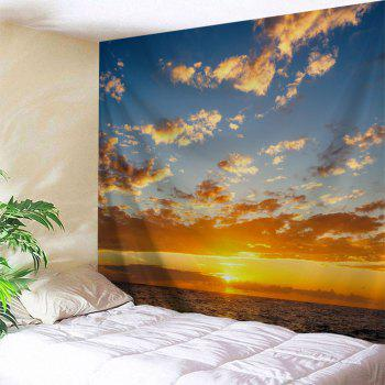 Ocean Sunset Print Tapestry Wall Hanging Art - COLORMIX COLORMIX
