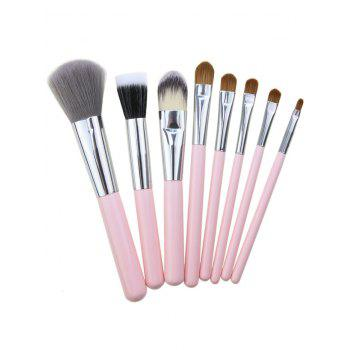 8Pcs Multifunctional Makeup Brushes Set with Bag -  TUTTI FRUTTI