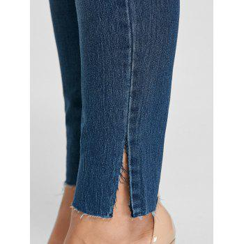 Plus Size Ankle Length Skinny Jeans - XL XL