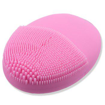 Silicone Mini Charging Facial Cleansing Instrument -  PINK