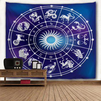 Signes du zodiaque Print Tapestry Wall Hanging Art - FF W59 INCH * L79 INCH