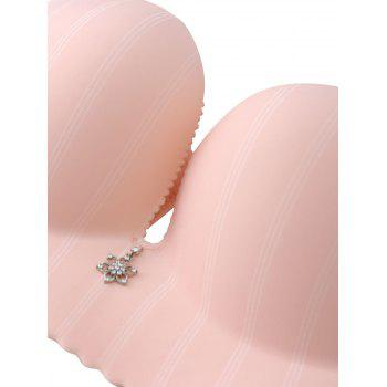 Bracelet confortable sans couture - Rose Abricot 95C